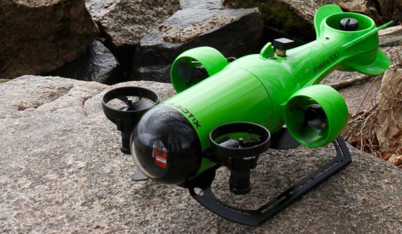 Endura ROV 為 Aquabotix 旗下的專業級水中無人機。