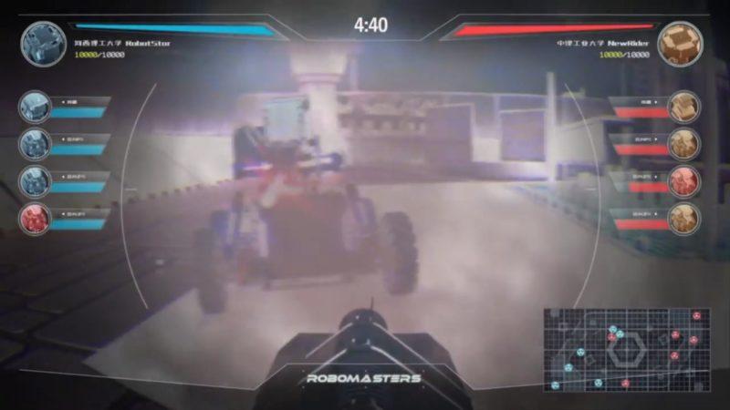 DJI RoboMasters 宣傳片(截圖一)