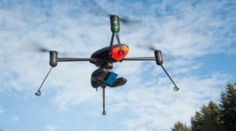 Draganfly Commander 四軸無人機的原本模樣