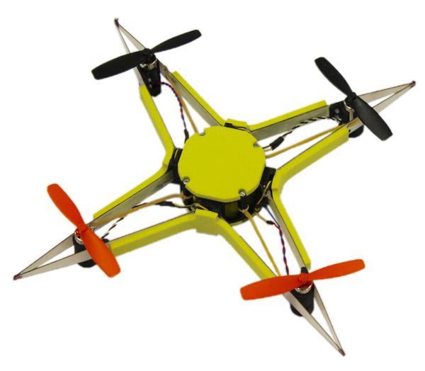 EPFL - 無人機「機械還原」- 測試機
