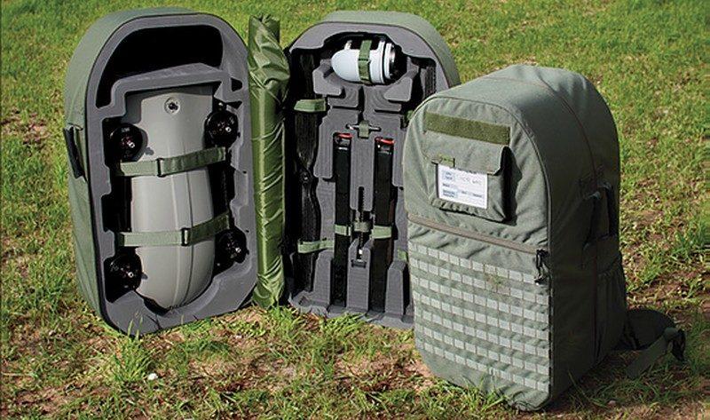 Thor 雷神無人機採用折疊式設計,折疊收起後可收納於特製背包中,攜帶到不同地方執行任務。