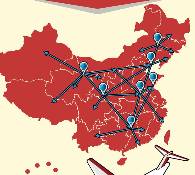 京東及陝西 - 三級智慧物流網路