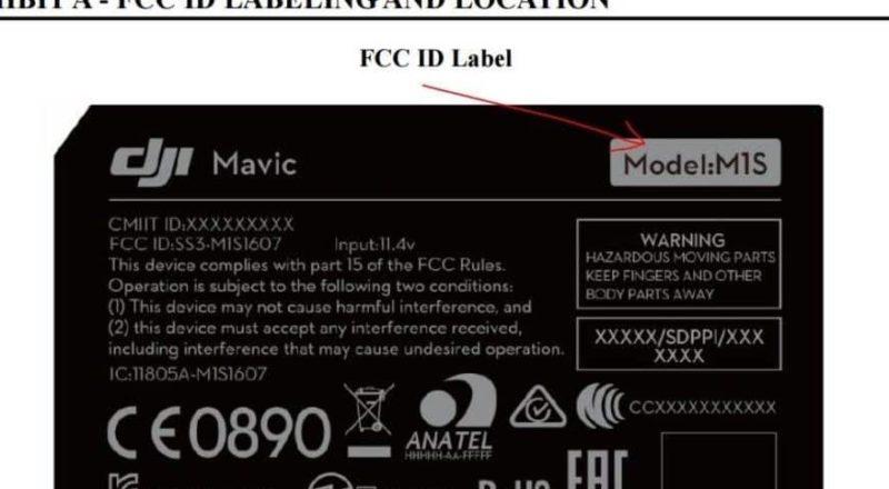 FCC 文件中的產品識別標籤有「M1S」字樣。