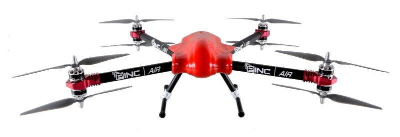 PINC 宣稱,PINC Air 無人機是首台獲美國聯邦航空總署(FAA)認可的倉管無人機。