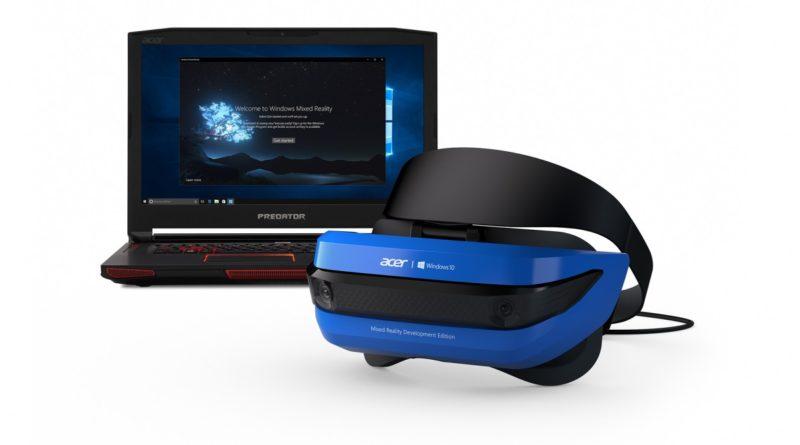 Microsoft 發表了跟 Acer 合作製造的 MR 眼鏡。
