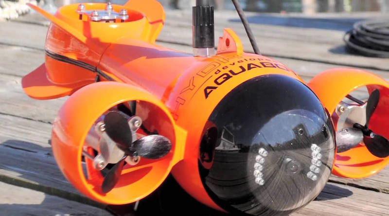 Aquabotix 另設有消閒用水中無人機產品線 HydroView mini ROV。