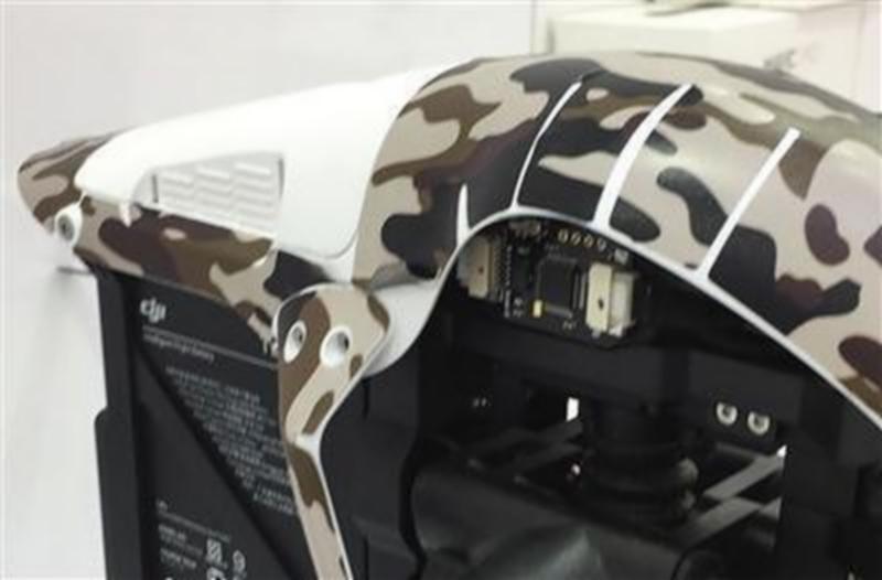 「飛態創新」店內存有已安裝破解模組的 DJI 航拍機。