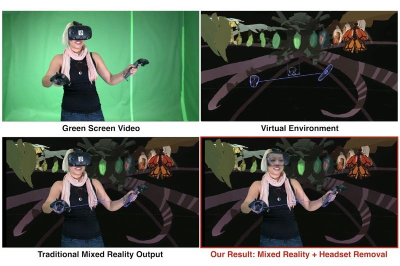 Google 這項新技術可應用在 VR 視訊會議、多人 VR 遊戲,又或者在綠幕前製作影片。