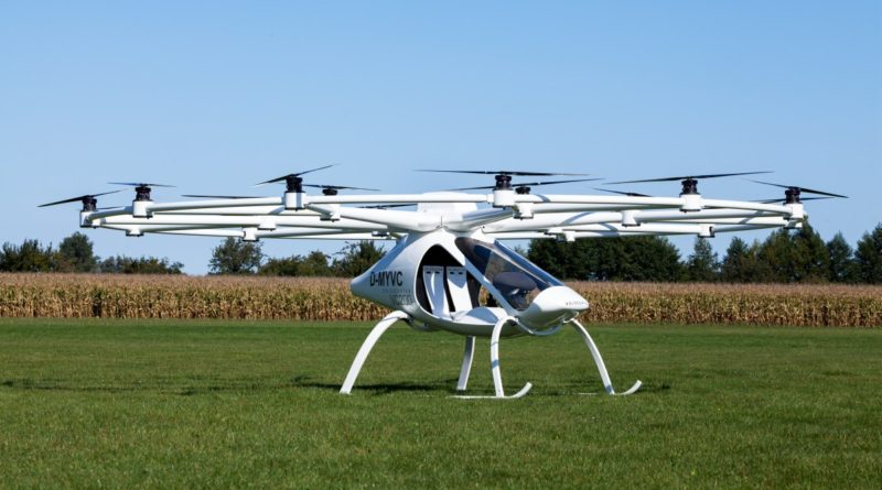 Volocopter VC200 是新加坡政府考慮採納的載人飛行器之一。