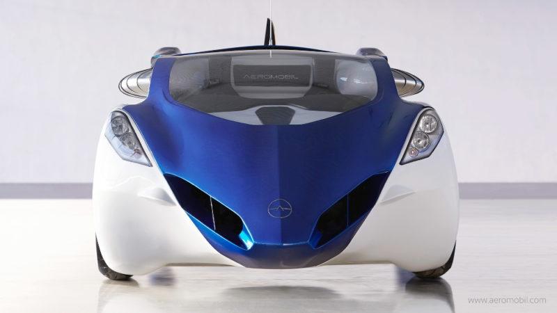 AeroMobil 3.0 - 地面模式正面