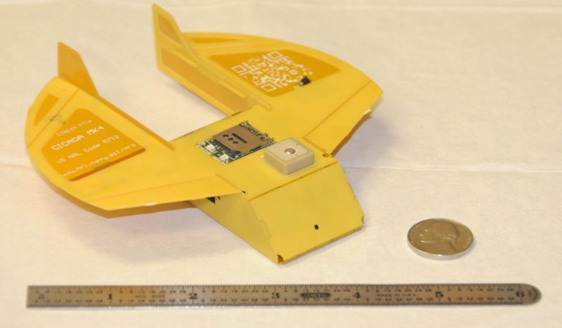 圖中是上一代機型 CICADA MK4。
