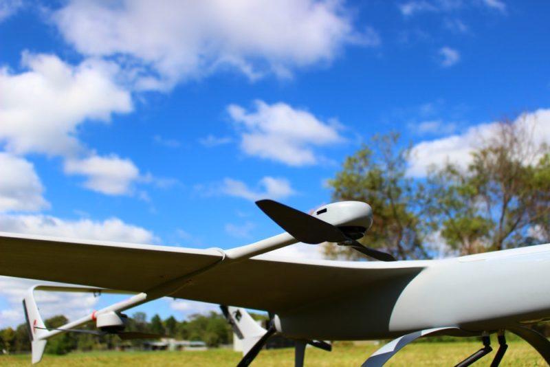 Volanti 無人機採用混合槳翼結構,配備四組旋翼作起降之用,機尾則設有一組螺旋槳提供推進力。