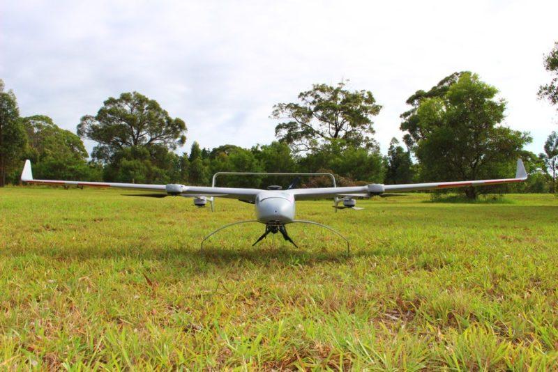 Volanti 無人機翼展長度達 2.74 米,絕對可稱得上為一隻大鳥。