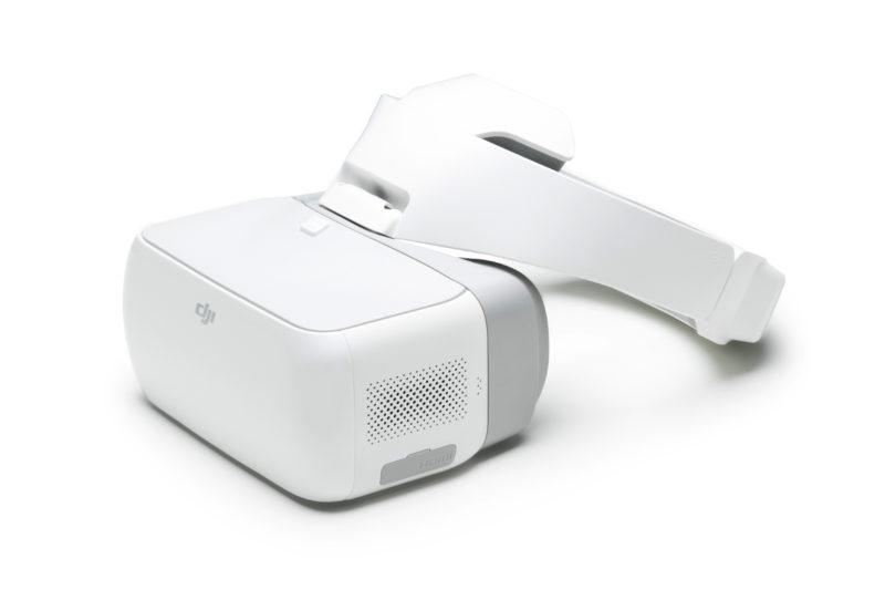 DJI Goggles FPV 眼鏡內置一對 1080p 解析度屏幕。
