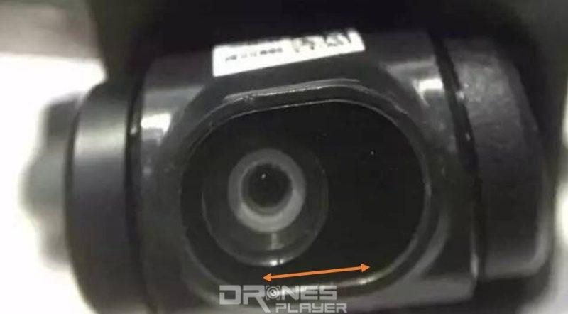 DJI Spark 的航拍鏡頭或可作左右移動,以修正水平振幅。