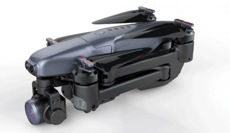 Walkera Vitus 無人機折疊後的模樣。