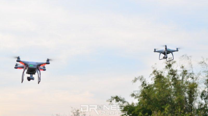 如同場有多位飛友一起放飛無人機,宜在軸臂貼上貼紙以作識別。