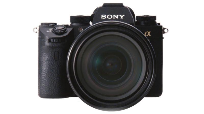 Sony A9 機身正面的模樣。
