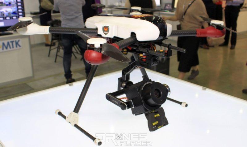 目前的警用無人機只是試作版本,實際大量應用外形和規格或會有所不同。