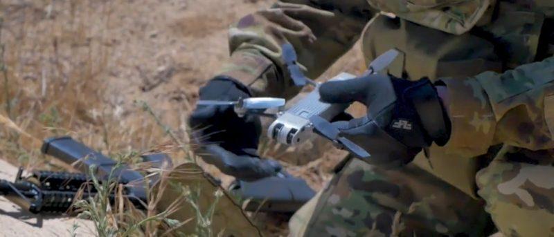 AeroVironment Snipe Nano 士兵隨身帶的無人機