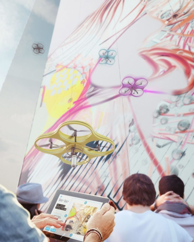 Carlo Ratti Associati - Paint by Drone - 用家視覺