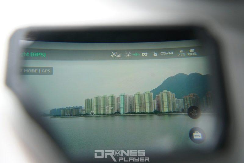 DJI Goggles - 屏幕顯示《DJI Go》