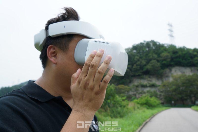 DJI Goggles - 觸控板