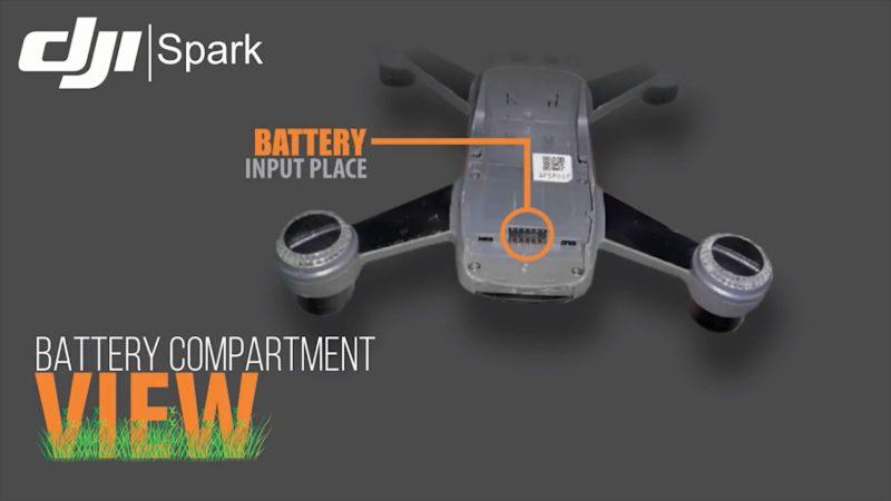 DJI SPARK 傳聞回顧影片:電池接位