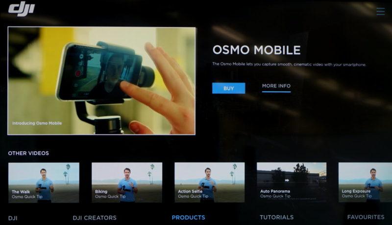 DJI Smart TV App - 產品介紹