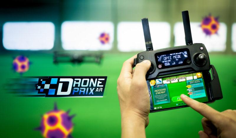 Edgybees Drone Prix - app 介面