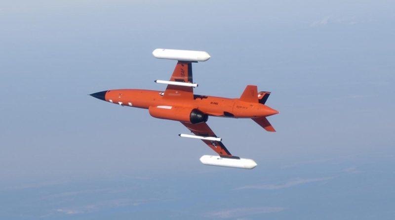 UTAP-22 無人戰機是由圖中 BQM-167 無人靶機改造而成,故此能有效降低製造成本。