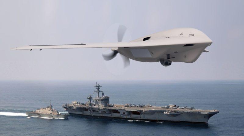 Lockheed Fury 無人機在海上應用時,主要是監視天空的威脅。