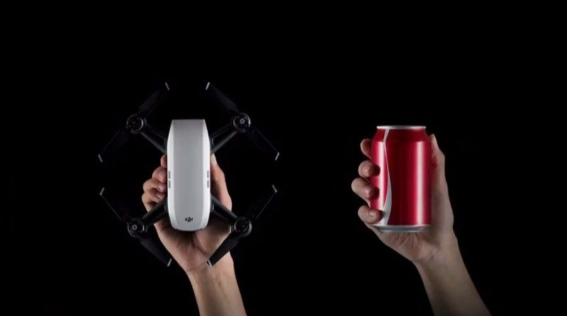 DJI Spark 無人機的機身重量為 300 克,而不是實名登記門檻以下的 249 克。