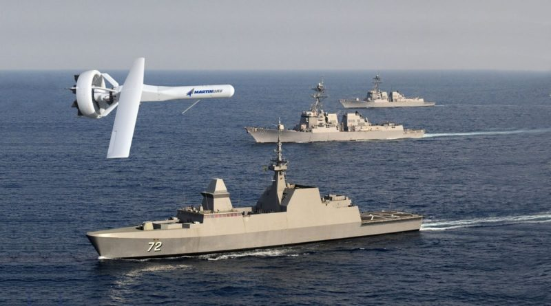 V-BAT 無人機安裝 MA-C/lite 感測器後,能收集 20 哩範圍內的訊號,適用於軍事和安保等領域。