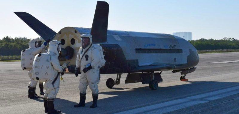 最神秘的美軍無人機 X-37B