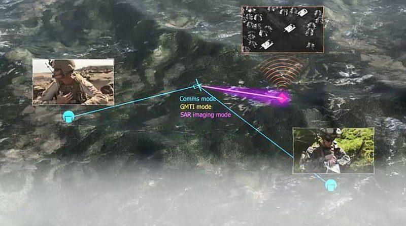 Concerto 無人機系統的最大用途是可讓無人機在無需降落換裝的情況下,進行通訊、監視、作戰支援之間的切換。