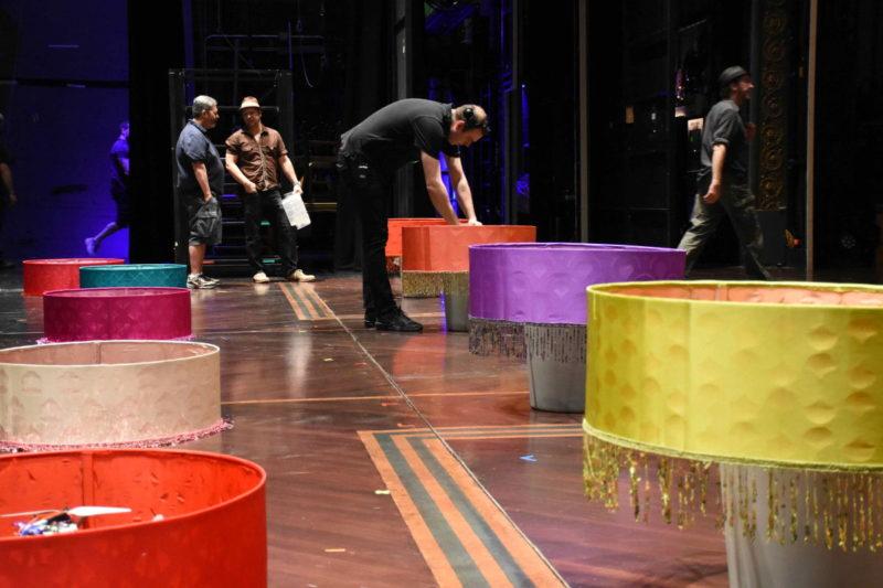 太陽劇團(Cirque du Soleil)《Paramour》(情)- 準備中
