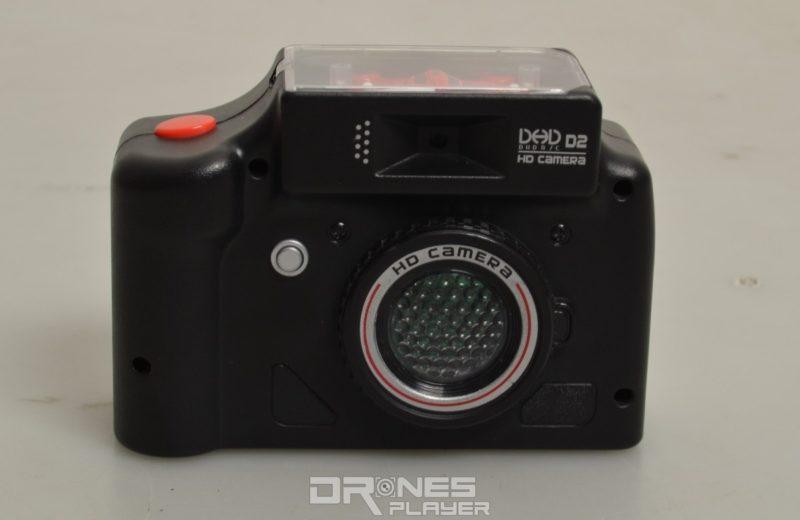 DHD D2 控制器的外形酷似一部相機。
