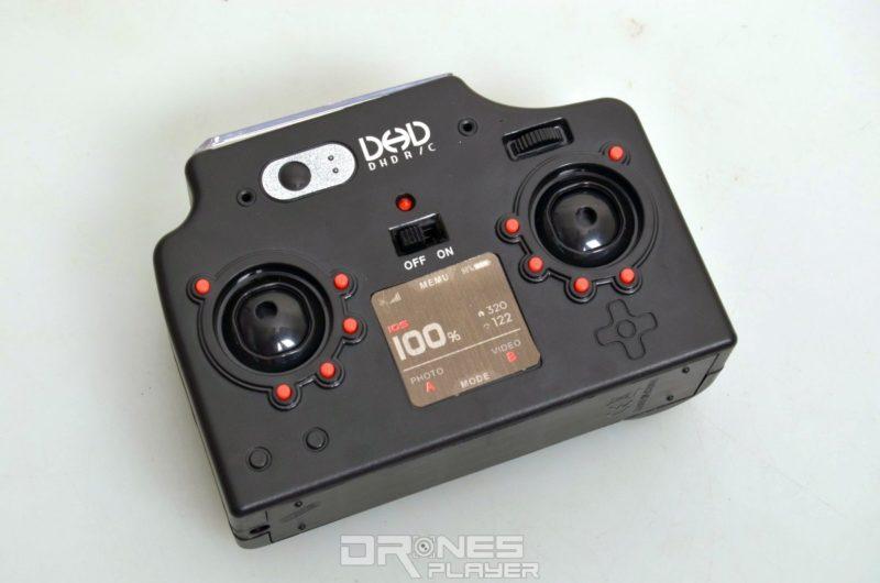 DHD D2 控制器的背部。