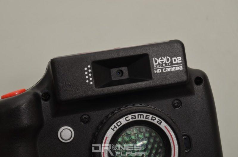 DHD D2 控制器的收納空間內預留鏡頭開孔。