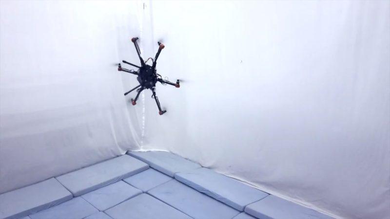 ETH Zurich - Voliro - tilted motor - 垂直飛行
