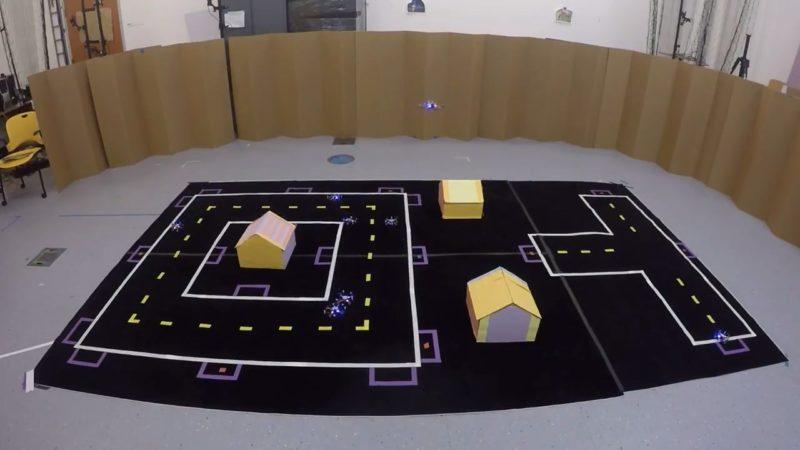 MIT 陸空路徑規劃演算法 - 測試實況