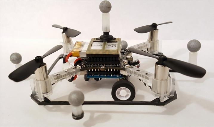 MIT 陸空路徑規劃演算法 - 採用的四旋翼機