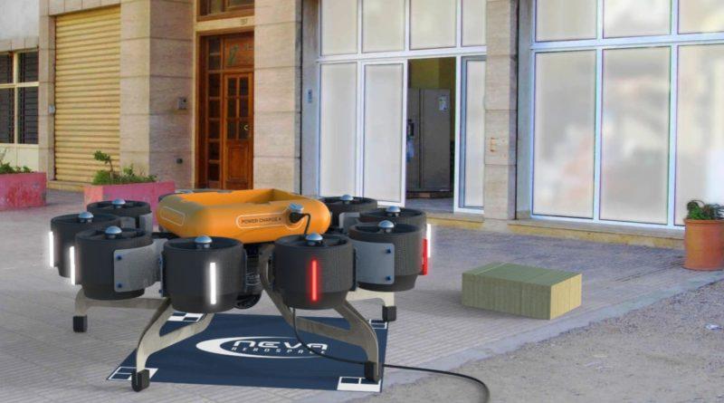 Eole 無人機的最大起飛重量為 50 公斤,因此利用無人機運送包裹絕對沒問題。