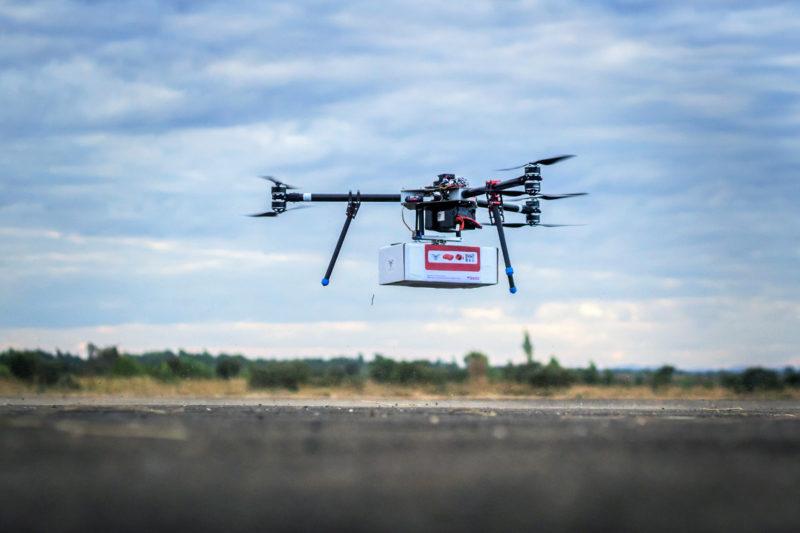 UNICEF 馬拉威測試無人機送貨