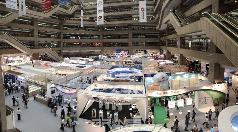 2017 台北國際電腦展有 1,600 家來自世界各地的廠商使用 5,010 個攤位參展。