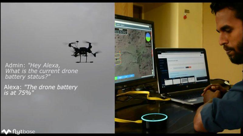 FlytBase Cloud - 無人機物聯網平台 - 連接 Amazon Alexa