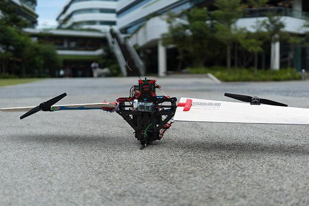 新加坡科技設計大學 - THOR(降落)