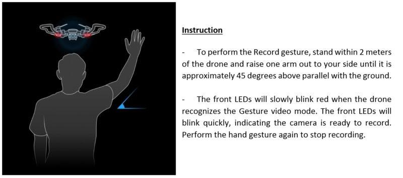 DJI Spark - 手勢控制錄製影片教學