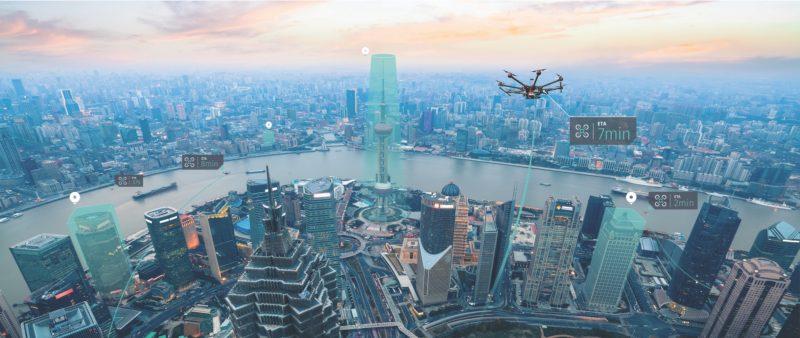 HERE 地圖(Here Technologies)與無人機空管系統公司 Unifly 合作推出新一代智能無人機空管系統。